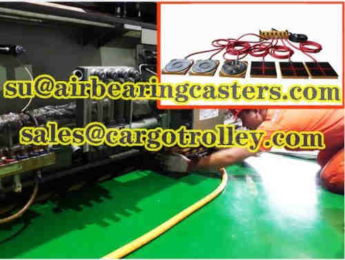 Air rigging systems are usually operated in internal locations
