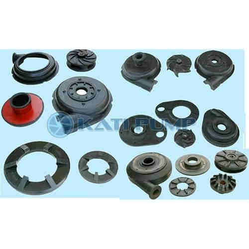 Rubber slurry pump parts   rubber pump parts