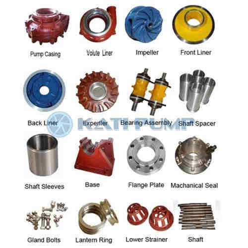 slurry pump parts  centrifugal slurry pump parts