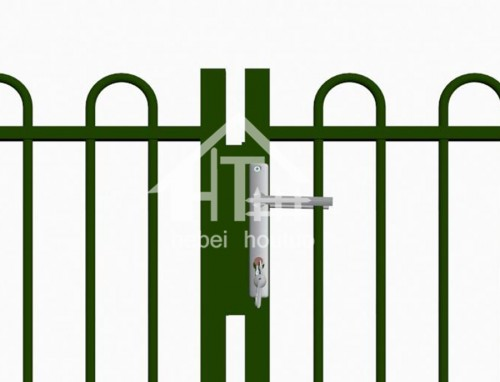 Ecnomic Feild Powder Coated Deco Garden Gate