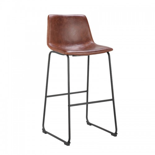 Modern design simple style stool high back bar stools for counter