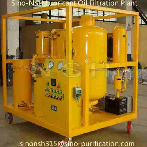 Sino-NSH Lubricating Oil Purifier Plant Oil Filtration Plant