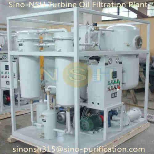 Sino-NSH Turbine Oil Purifier Oil Filtraiton Plant