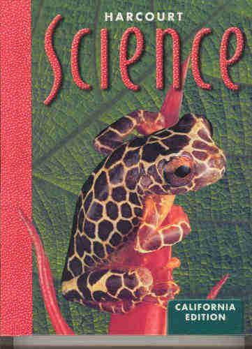 Harcourt Science California Edition 5