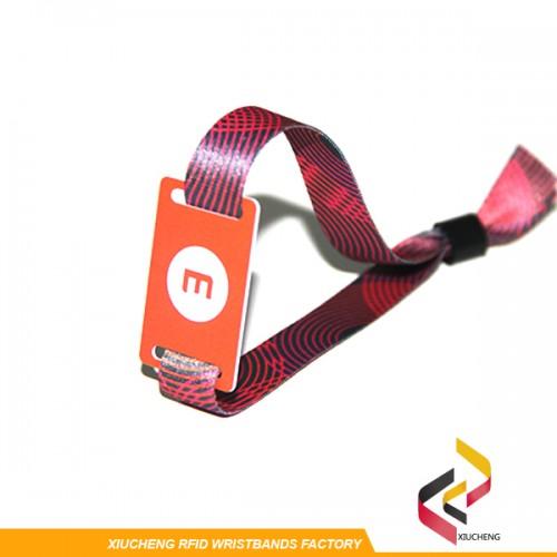 NTAG213 RFID Fabric Wristbands