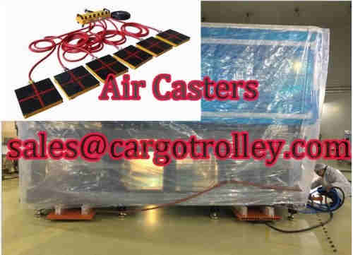 Air casters price and air movers applications