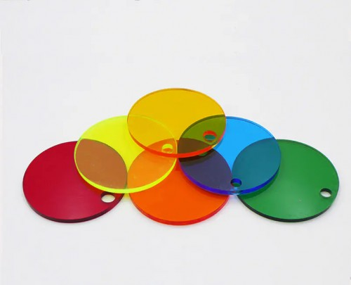 Round transparent color non-toxic PS Sheet