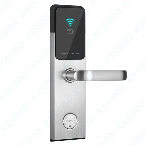RFID Hotel Apartment Smart Safe Card Front Door Lock KXG-H1