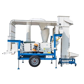 5XZC-7.5DS Seed Cleaner and Grader With Double Air Cleaning System