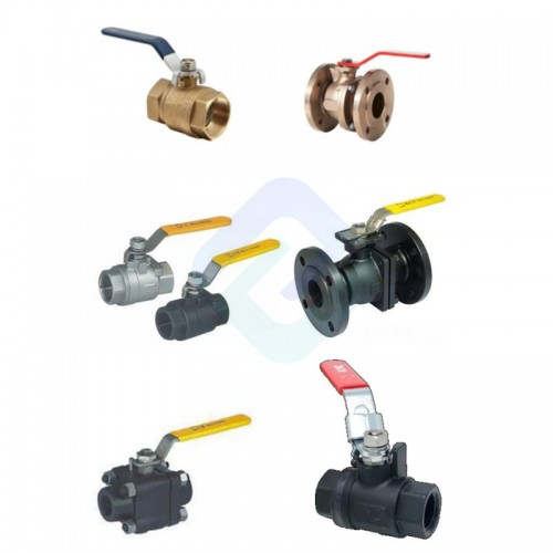 Cast Iron Ball Valve with Plate or Painting or Galvanized Surface