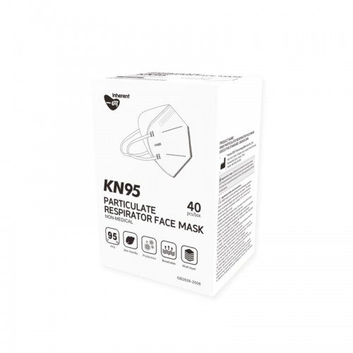 KN95 Face Mask 40PC Pack