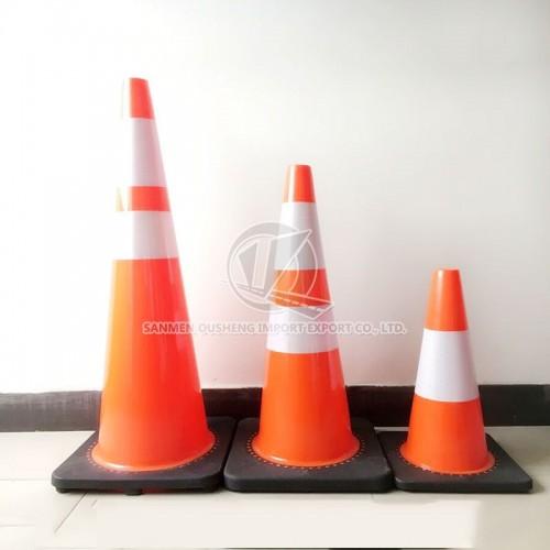 PVC Traffic Cone With Black Base