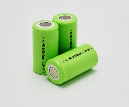 Ni-MH Battery Cell SC3000mAh1.2V HT