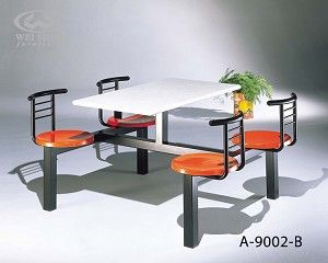 Fast Food Table Chair - Cafeteria A9002B
