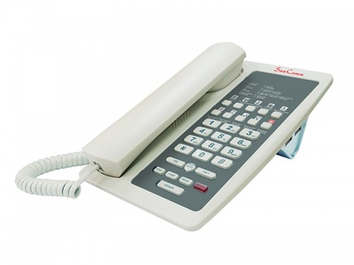 IP Phone with PoE for Hotel use  SC-2228-HPE