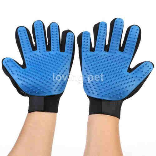 Gentle Deshedding Brush Pet Grooming Glove