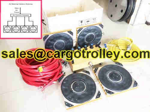 Air pads for moving equipment air casters for sale