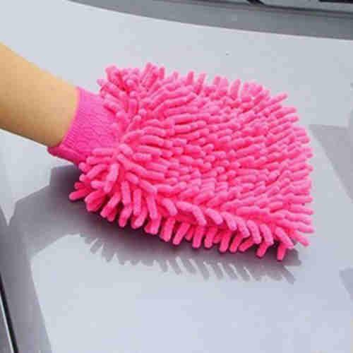 Microfiber Chenille Glove