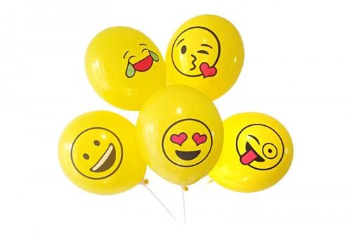 Custom Emoji Latex Balloon