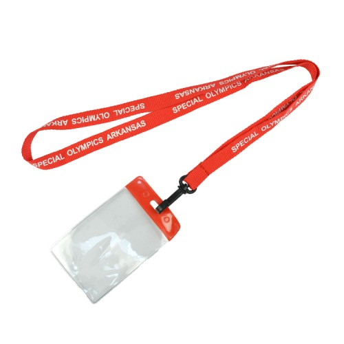 Printed Lanyard with Card Holder for Promotional Gifts