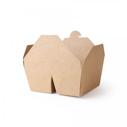 Two Compartment Take Out Box