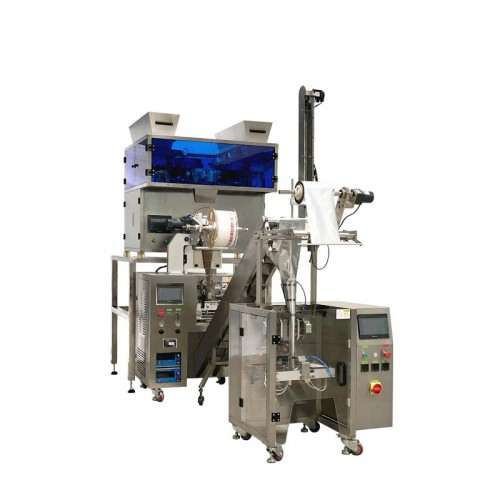 Flexible Pyramid Tea Bag Packing Machine with Overwrap