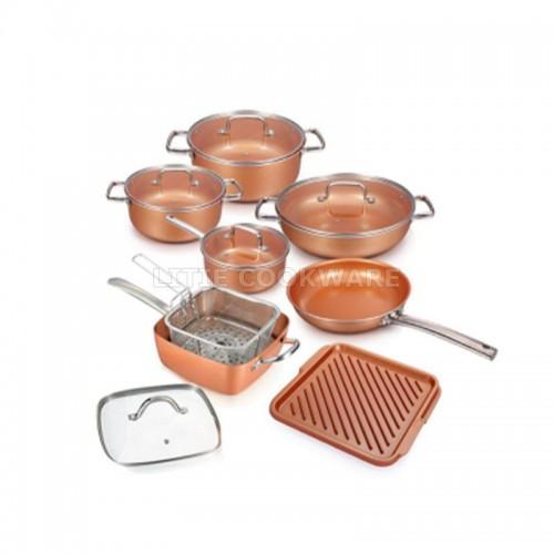 Pressed Aluminum Cookware Set