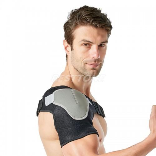 Professional sport pressure single shoulder brace support