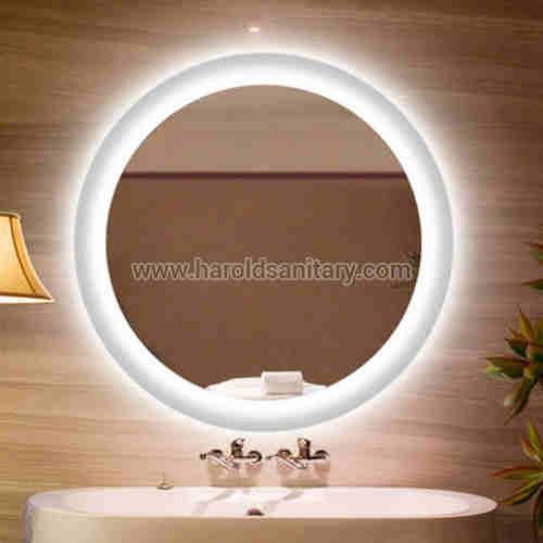 LED Backlit Front Light Frameless Mirror