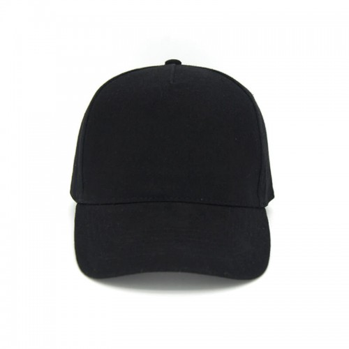 5 Panel Promotional Cotton Baseball Cap With Velcro Closure