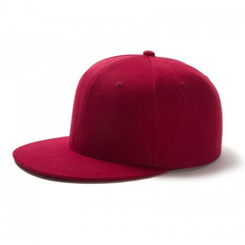 Wholesale Custom Hot Sell Flat Bill Snapback Cap