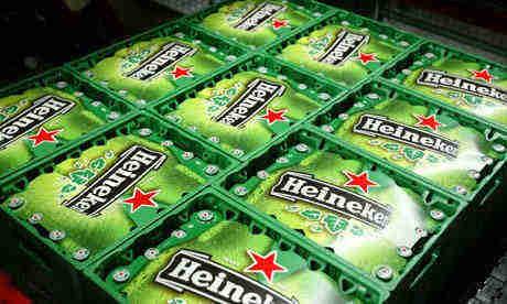 Heineken Beer 250ml, 330ml and 500ml