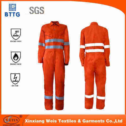 flame retardant coverall for safety