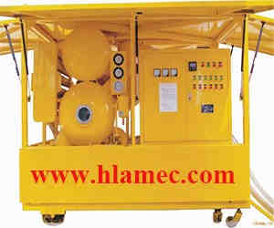 Vacuum Transformer Oil Purification Machine