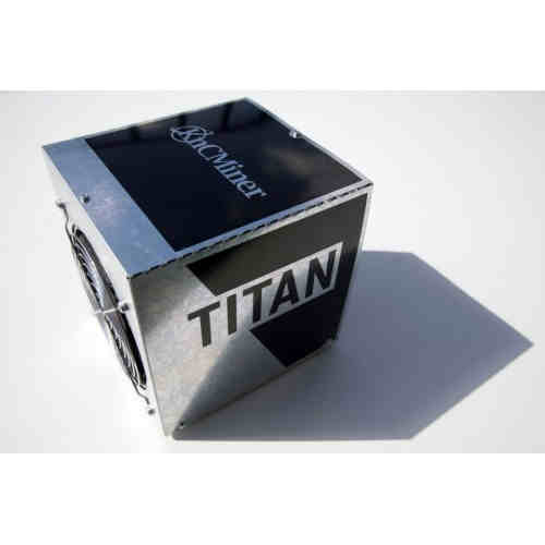 KnC Miner Titan 300 MH/s up to 360 MH/s at 850 Watt Scrypt Miner include ATX PSU