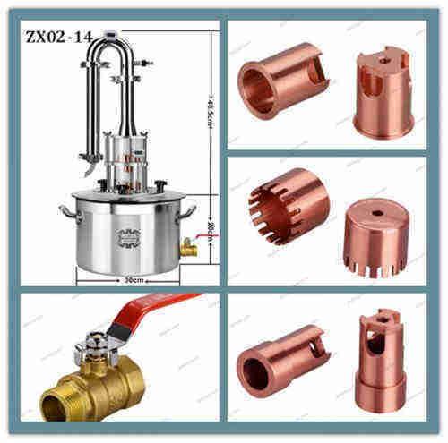 home distillling equipment alcohol distillation moonshine still