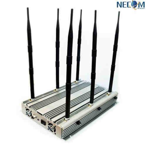 4g/WiFi Signal Jammer, High Power Wireless Cell Phone GSM CDMA Bomb Signal Blocker,CPJ690