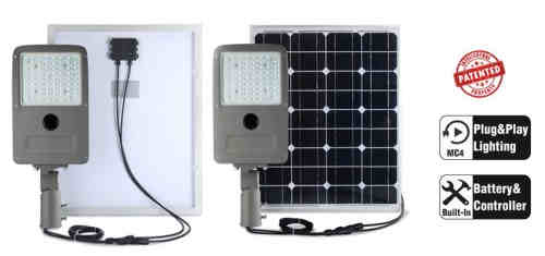 15w Rechargeable Solar LED Street Light