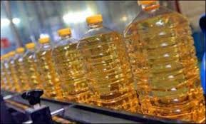 Crude sunflower oil, Refined corn oil, Refined sunflower oil. Palm oil