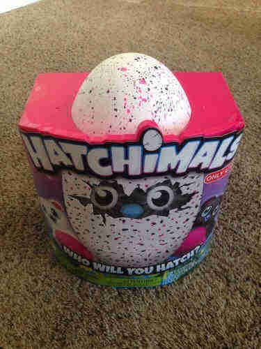 Hatchimals Hatching Interactive Bearakeet Pink Black Egg Target Exclusive
