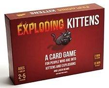 Exploding Kittens Cardgame Exploding Kittens