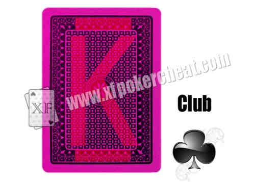 XF Best Visible Playing Cards TRIFID With Invisible Markings For UV Contact Lenses And Poker Anal