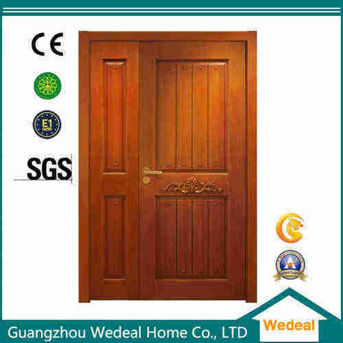 Customize Prehung Lacquer/PVC/Veneer Wood MDF American Panel Door