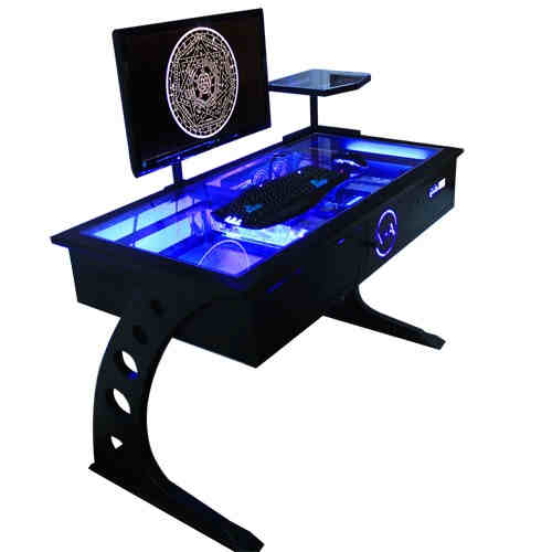 New Full Custom PC VanAen D2 Computer Desk Support 2 PC - Intel Core i7-6850K