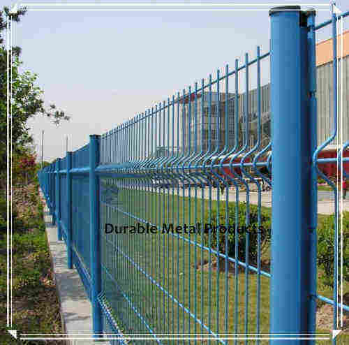 Powder Coated Security Weld Wire Fence