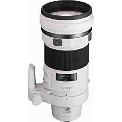 New Sony SAL-300F28G G Series 300mm f/2.8 Super Telephoto Lens for Sony Alpha Digital SLR Camera