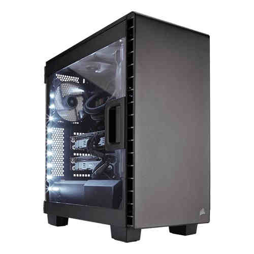 New Tower PC Gaming 4K - Carbide Series Clear 400C, Core i7-6700K, GeForce GTX 1070 DUAL-GTX1070-O8G