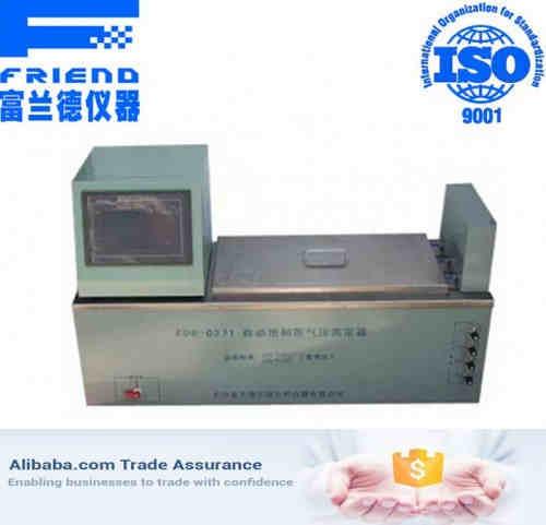 Automatic saturated vapor pressure analyzer