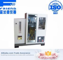 High vacuum distillation analyzer