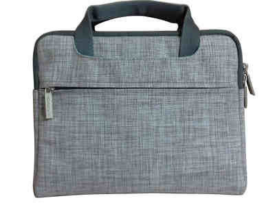 Linen Laptop Bag